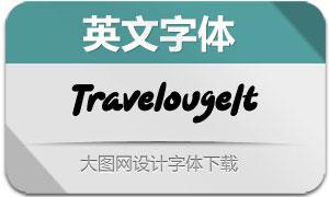 Travelouge-Italic(英文字体)