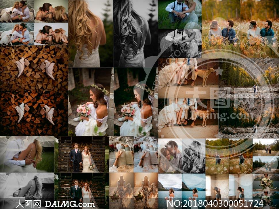 15款婚礼随拍照片唯美艺术效果LR预设
