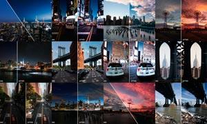 城市景观照片后期美化处理LR预设
