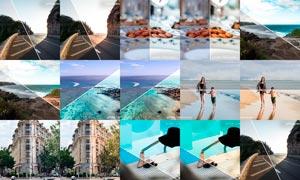 旅游照片后期美化处理LR预设