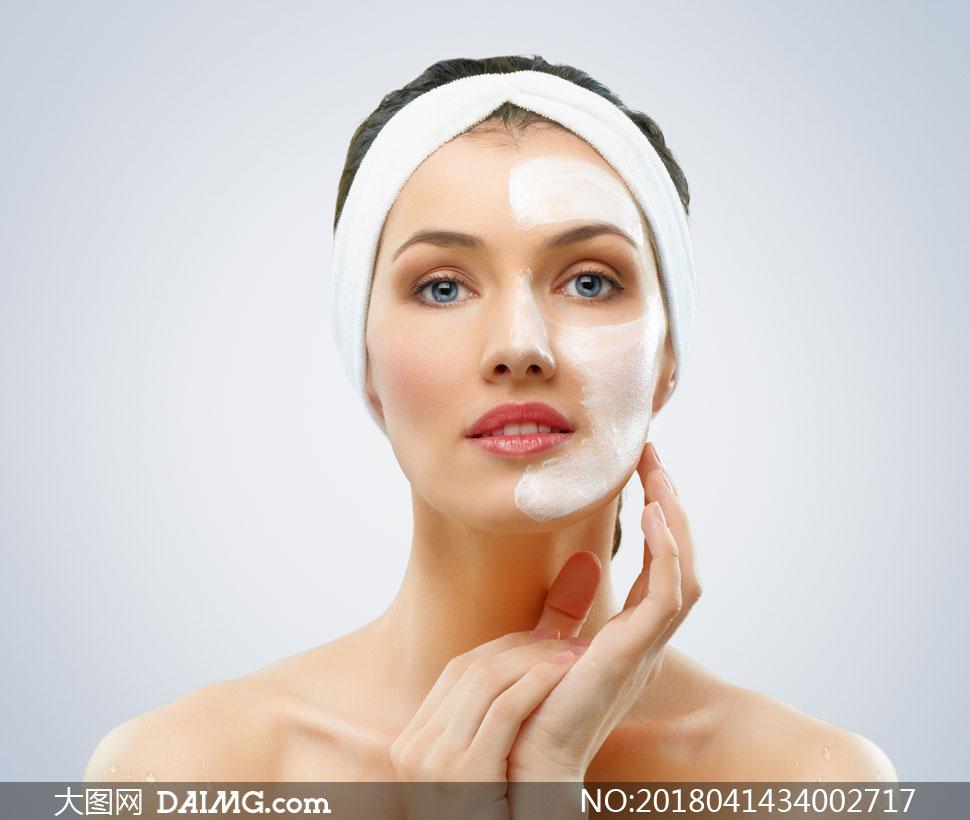 浴后做美容护肤的美女v美女情趣图片南江县高清店无人图片