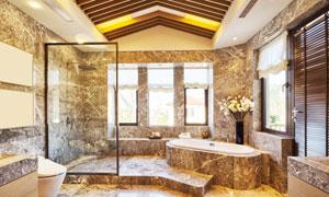 卫生间与浴室装修效果展示高清图片