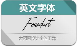 Foundart(英文字体)