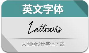 Lattravis(英文字体)
