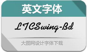 LTCSwing-Bold(英文字体)
