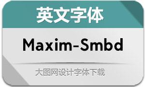 Maxim-Semibold(英文字体)