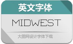 Midwest-Display(英文字体)