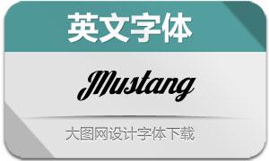 Mustang(英文字体)