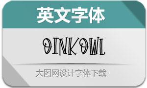 OinkOwl(英文字体)