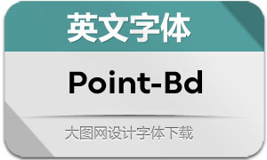Point-Bold(英文字体)