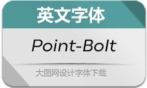 Point-BookItalic(英文字体)