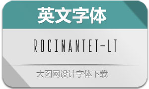 RocinanteTitling-Light(英文字体)