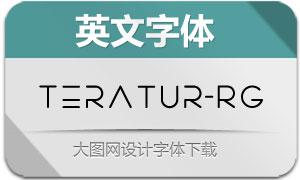 Teratur-Regular(英文字体)