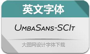 UmbaSans-SCItalic(英文字体)