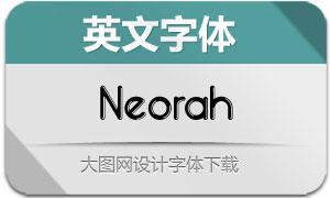 Neorah(英文字体)