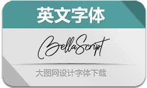 BellaScript(英文字体)