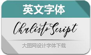 ChalistoScript(英文字体)