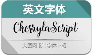 CherrylaScript(英文字体)