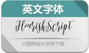 FlourishScript(英文字体)