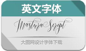 MasturaScript(英文字体)