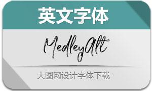 MedleyAlt(英文字体)
