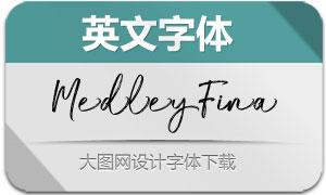 MedleyFina(英文字体)