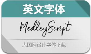 MedleyScript(英文字体)