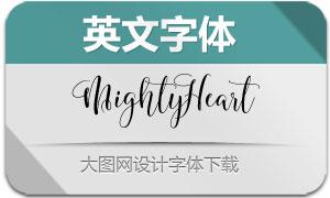 MightyHeart(英文字体)