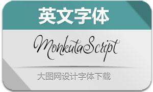 MonkutaScript(英文字体)