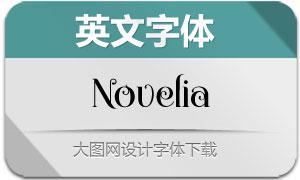 Novelia(英文字体)