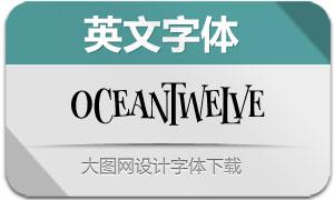 OceanTwelve(英文字体)