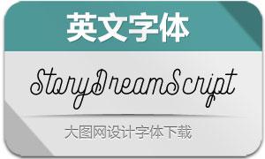 StoryDreamScript(英文字体)