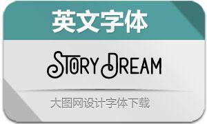 StoryDream(英文字体)