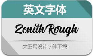 ZenithRough(英文字体)