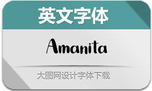 Amanita(英文字体)