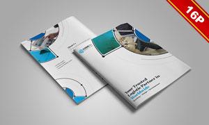 两种尺寸四种配色画册封面内页设计