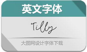 Tilly(英文字体)
