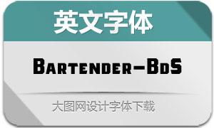 Bartender-BoldSans(英文字体)