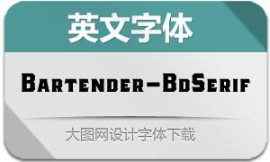 Bartender-BoldSerif(英文字体)