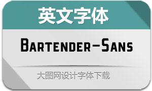 Bartender-Sans(英文字体)