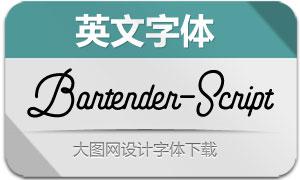 Bartender-Script(英文字体)