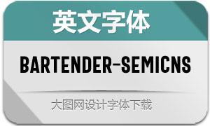 Bartender-SemiCnSans(英文字体)