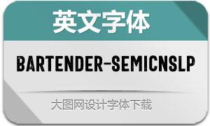 Bartender-SemiCnSLP(英文字体)