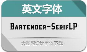 Bartender-SerifLP(英文字体)