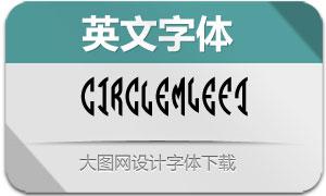 CircleMonogramm-Left(英文字体)