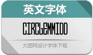 CircleMonogramm-Mid(英文字体)