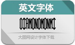 DiamondMonogram-Mid(字体)
