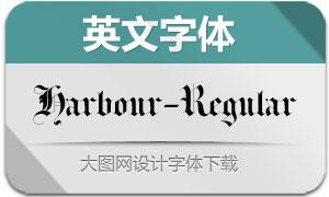 Harbour-Regular(英文字体)