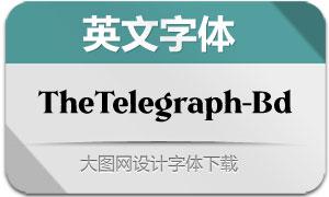 TheTelegraph-Bold(英文字体)