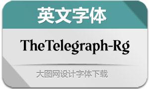 TheTelegraph-Regular(英文字体)